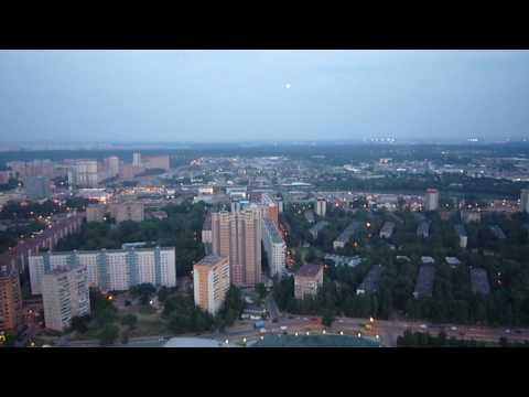 полет вечером Одинцово.wmv