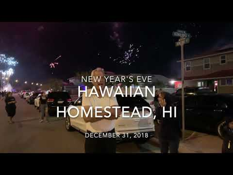 Hawaii New year's eve 2019