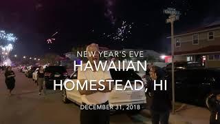 Hawaii New year's eve 2019
