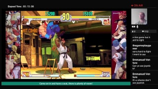 Street Fighter III Third Strike Ranked and Friend Matches Stream 1
