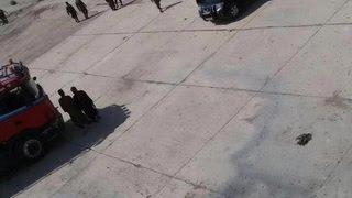 Исламисты выложили фото расстрела 56 сирийских солдат