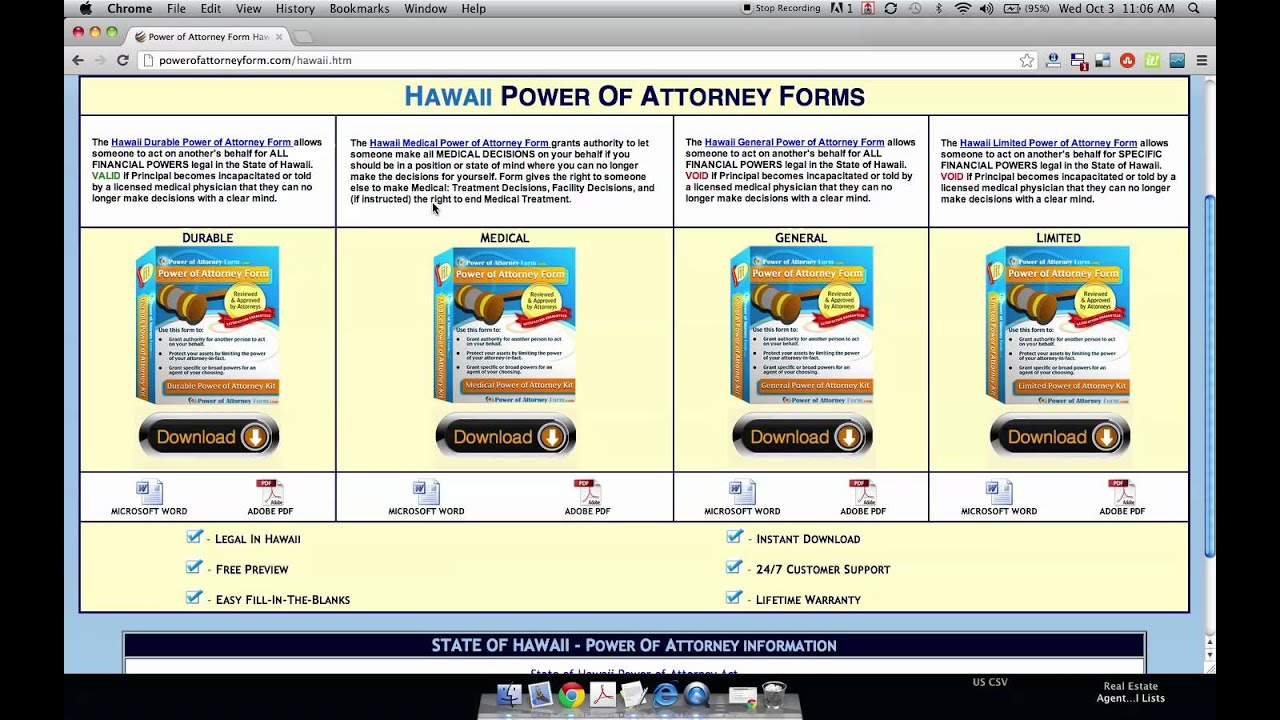 Power of attorney form hawaii youtube power of attorney form hawaii falaconquin