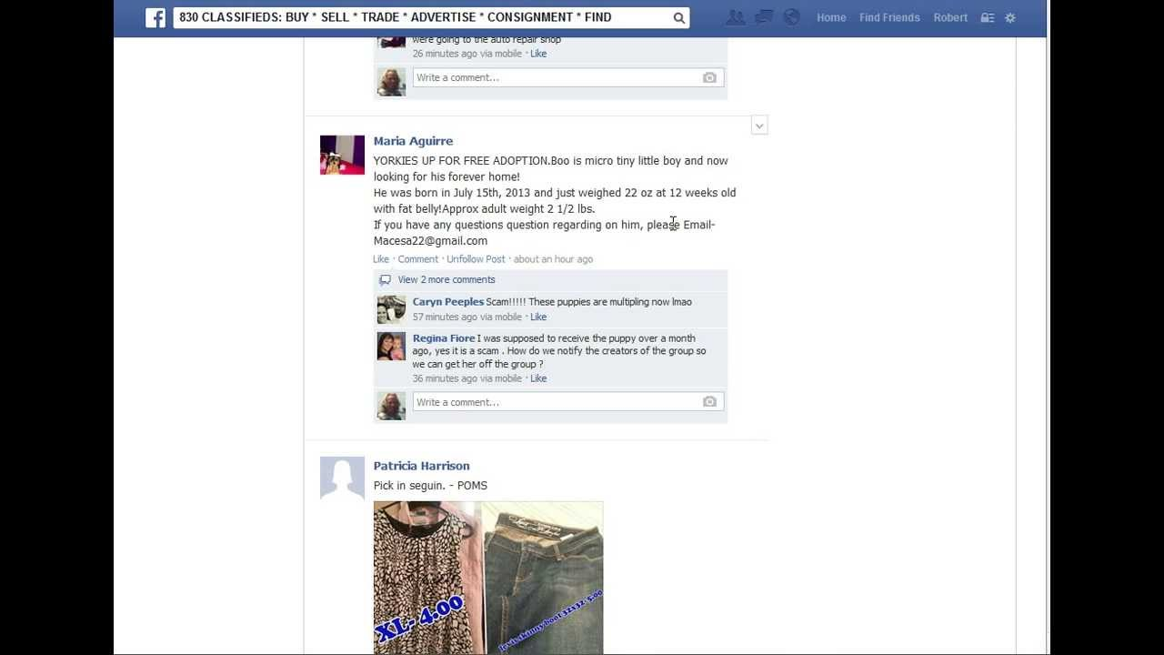 Facebook Tutorial: Report a user to the Admin