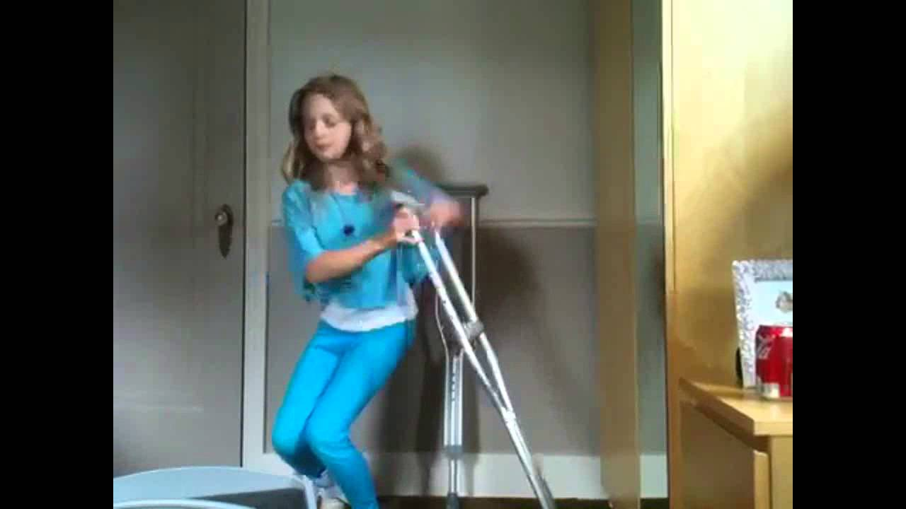 how not to use crutches youtube