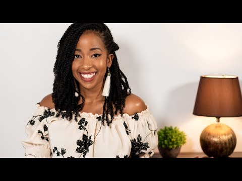 MOST NATURAL- LOOKING MINI TWISTS WITH EXTENSIONS | PROTECTIVE STYLING