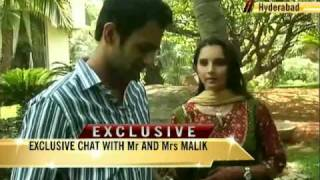 Newlyweds Sania, Shoaib talk to NDTV
