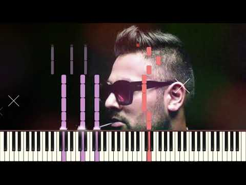 SHE MOVE IT LIKE | BADSHAH | PIANO TUTORIAL | ONE | MIDI DOWNLOAD | SYNTHESIA | BY ARUPIX