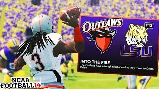 Crazy Finish vs LSU! NCAA 14 Ozark State Outlaws Dynasty Ep. 17
