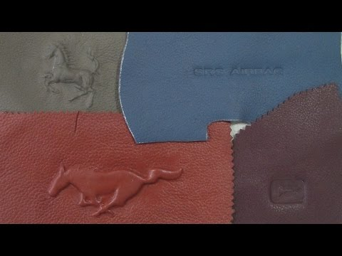 Embossing & Debossing on Leather - Part 1