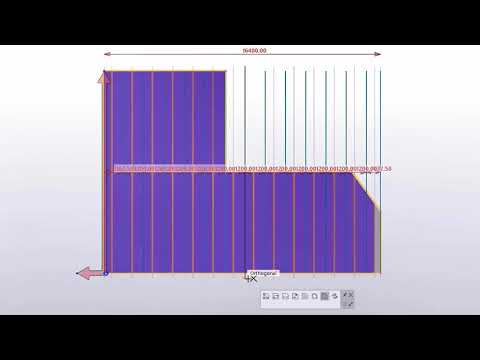 Renewed Slab and Plate Splitter in Tekla Structures 2021