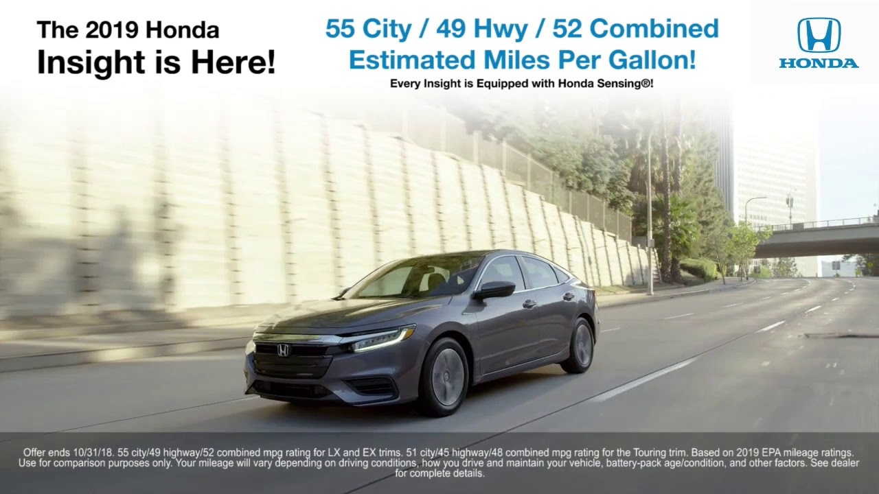 The New 2019 Honda Insight Is Here Fredericksburg Va Richmond