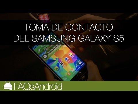 Pre Análisis Samsung Galaxy S5 en español | FAQsAndroid.com