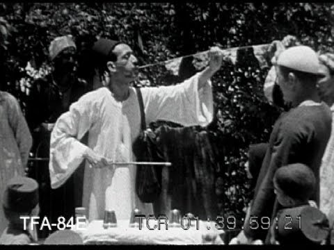 Magicians of India in 1950's