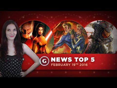 Fallout 4 DLC, Star Wars KOTOR Remake, and Free Steam Games! - GS News Top 5