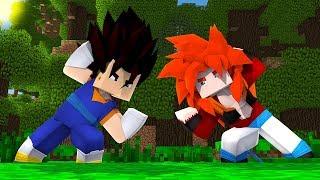Minecraft: FUSÃO VEGETTO E FUSÃO GOGETA FIZERAM A FUSÃO !!! - FUSÃO ‹ DRAY ›