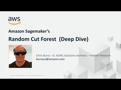 AWS Partner Webinar: Random Cut Forest on Amazon SageMaker