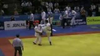 Injury At Ju-Jitsu World Championships 2006
