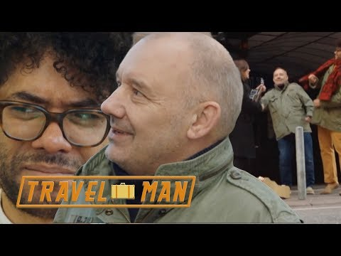 Richard Ayoade & Bob Mortimer's FUNNIEST moments in Hamburg | Travel Man from YouTube · Duration:  7 minutes 47 seconds