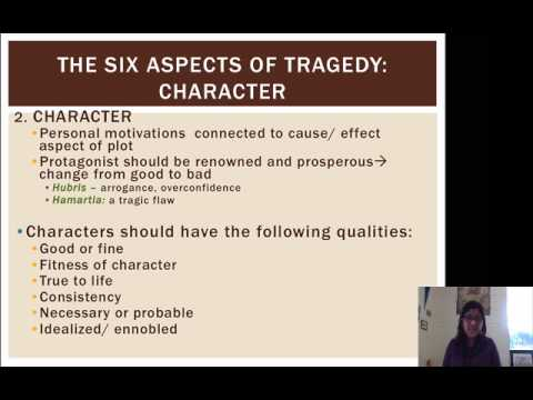 characteristics of tragedy according to aristotle