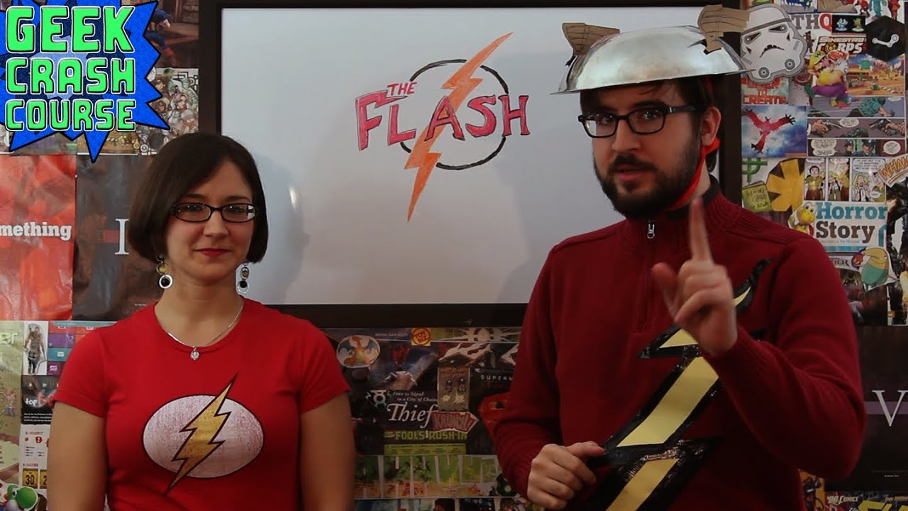 The Flash - Barry Allen and the Other Flashes - Geek Crash Course