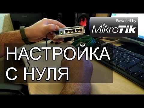 Первоначальная настройка MIKROTIK с нуля: DNS, DHCP, NAT, статический и динамический IP