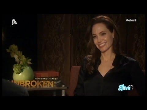 Όταν ο Θοδωρής Κουτσογιαννόπουλος συνάντησε την Angelina Jolie