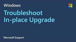 Windows 10 In-Place Upgrade - Microsoft Support: Help!