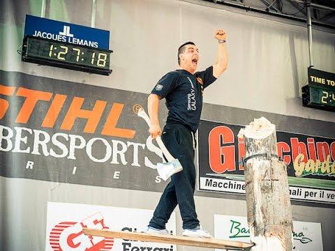 Stihl TimberSports Pinzolo 03 Luglio 2016 Finale Campionato Italiano