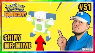 SHINY MR.MIME - Pokemon QUEST PL #51