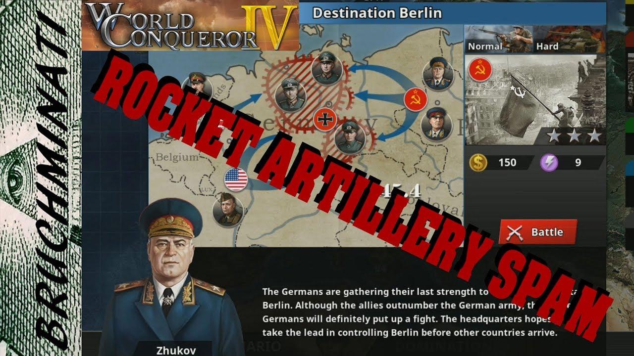 World Conqueror 4   Allies Campaign Destination Berlin #11 (No Generals)
