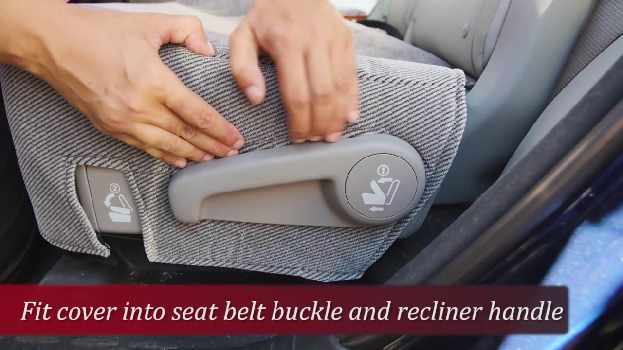 SUV Seat Cover Installation