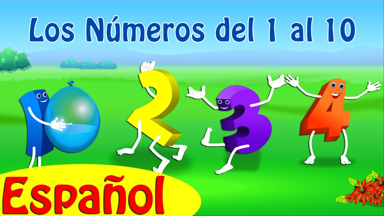 Los Números Del 1 Al 10 Learn Numbers 1 To 10 Canciones Infantiles En Español Chuchu Tv Youtube