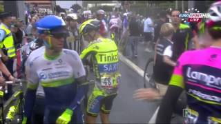 Tour de France 2015 - Stage 5 - Мокрый завал