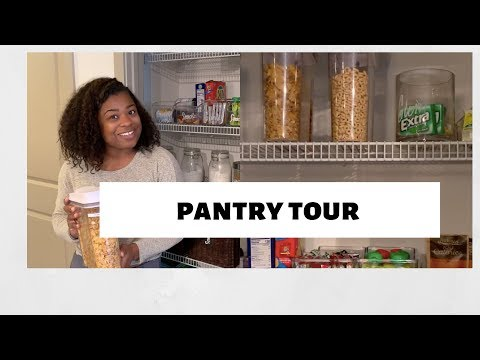 Pantry Tour 2019 | Pantry tips for a small space!