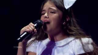 "JESC 2013 Malta Gaia Cauchi - ""The Start"" (dress rehearsal 29.11.2013)"