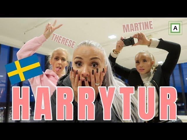 Harrytur med Martine og Therese