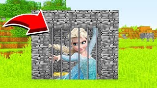 Minecraft : We TRAPPED ELSA (Ps3/Xbox360/PS4/XboxOne/PE/MCPE)
