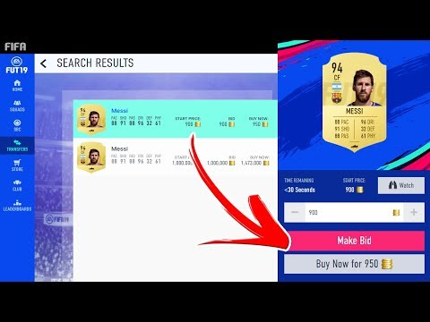 HOW TO SNIPE ON FIFA 19 (WEB APP)