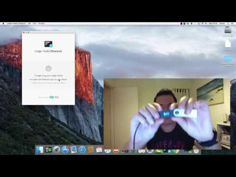 Ledger Nano S & Ethereum Wallet App On iMac OSX