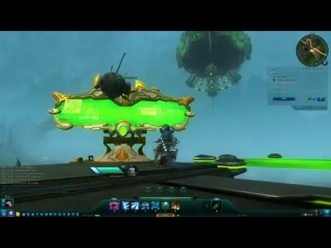 Wildstar F2P MMO - Chua Medic Gameplay Part 3 - Levian Bay 100% Map Walkthrough