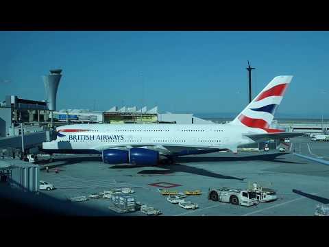 British Airways Airbus A380 San Francisco - London Heathrow