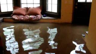 My new indoor swimming pool