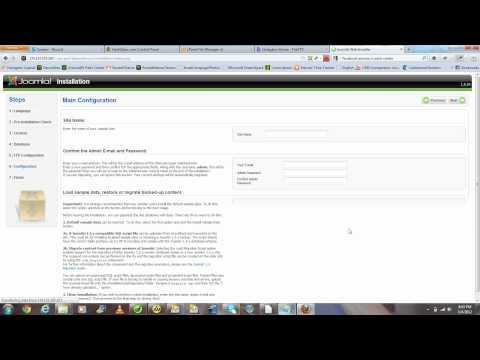 5 Minute Joomla Tutorial - How To Install A Joomla RocketTheme Rocketlauncher