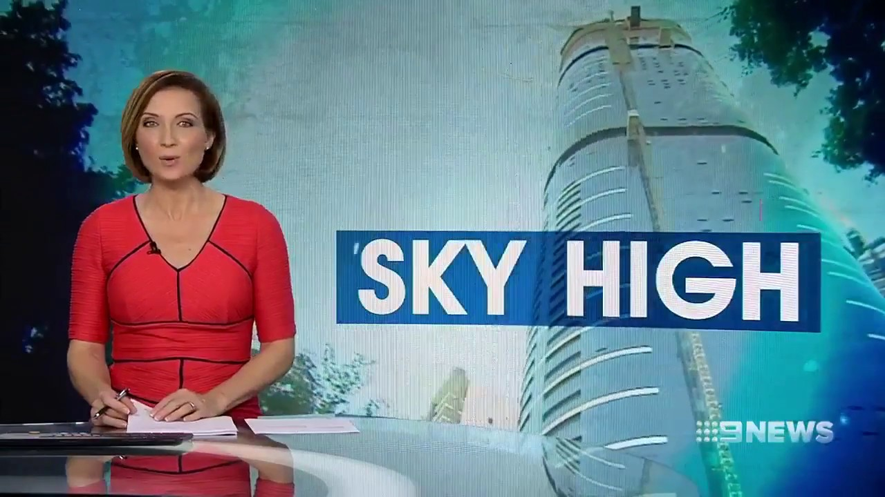 Brisbane Skytower - 9 News - 05 June 2018