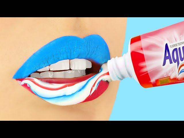 16 Funny Makeup Pranks! Prank Wars!