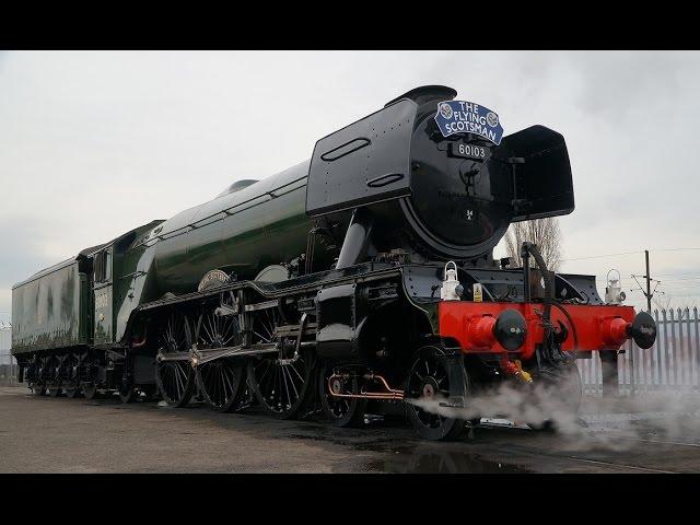 名/迷蒸気機関車】フライングスコッツマンの復活 【イギリス】 LNER ...
