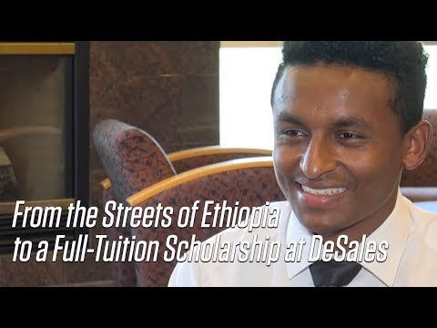 Hailemichael Geiger: From the Streets of Ethiopia to a Full-Tuition Scholarship at DeSales