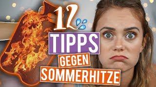 WÄRMFLASCHE & TEE WENN MAN SCHWITZT? - 12 Tipps gegen Hitze im Sommer | SNUKIEFUL