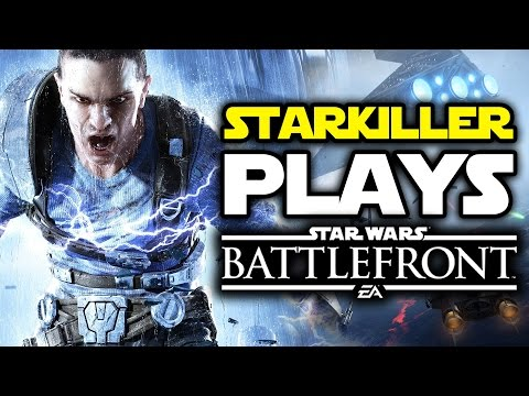STARKILLER PLAYS STAR WARS BATTLEFRONT!  Battlefront Multiplayer Gameplay