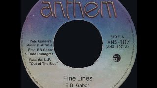 Download BB GABOR - FINE LINES - 1984 MP3 song and Music Video
